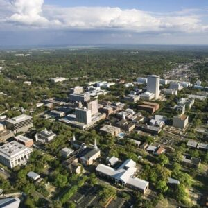 Tallahassee, FL, and Aerial View